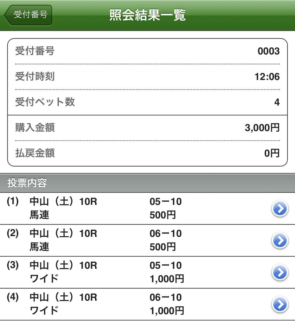 韓国馬事会杯の馬券